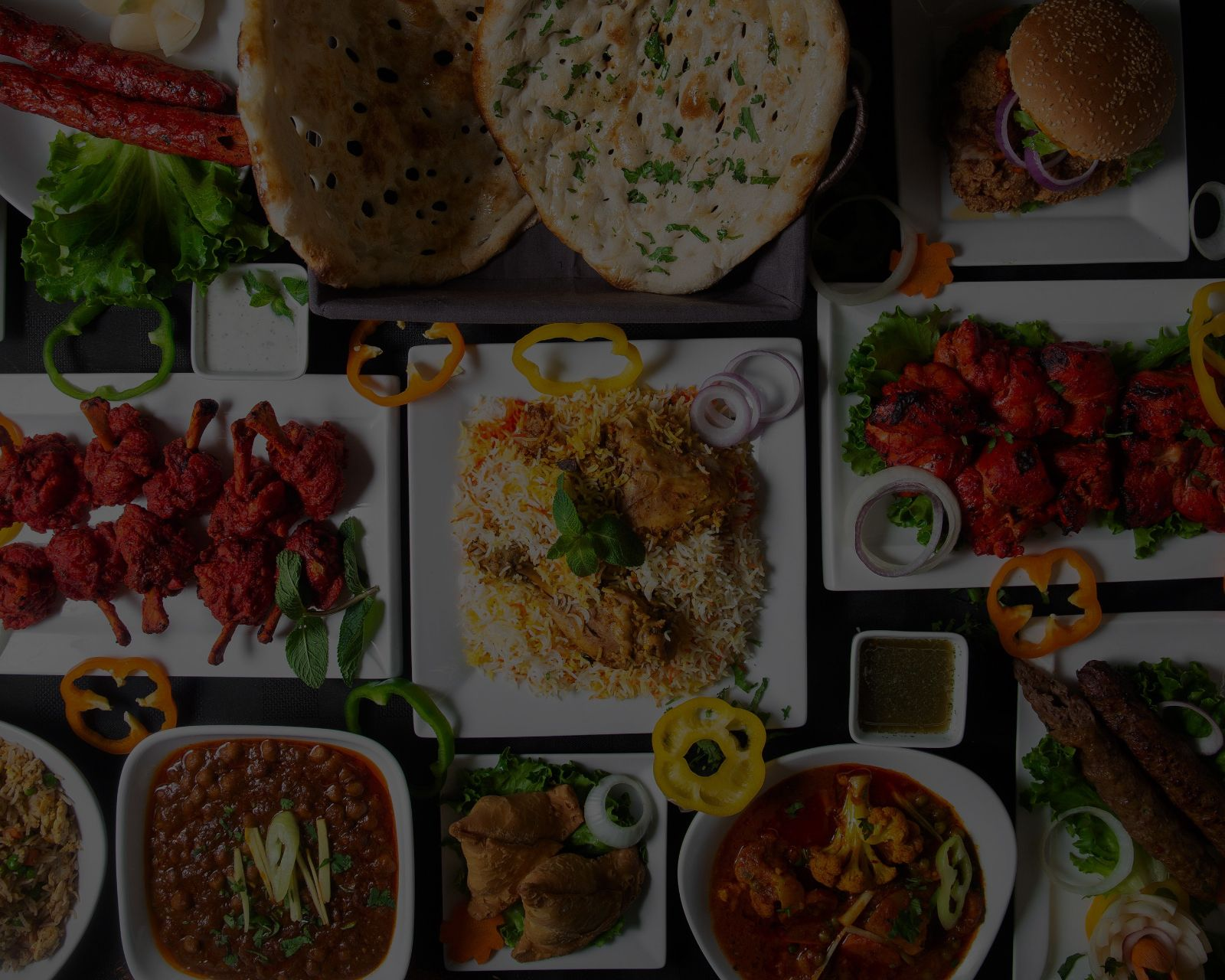 A variety in menu served with many Indian dishes.